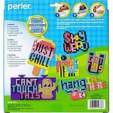 Perler Термомозаика 2000 бусинок и основа Just Say Beads Kit Box 2000pcs, фото 3
