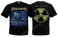 Футболка MEGADETH - Rust In Peace - (с радиацией)