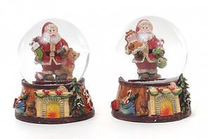 Водяной шар Дед Мороз подарки