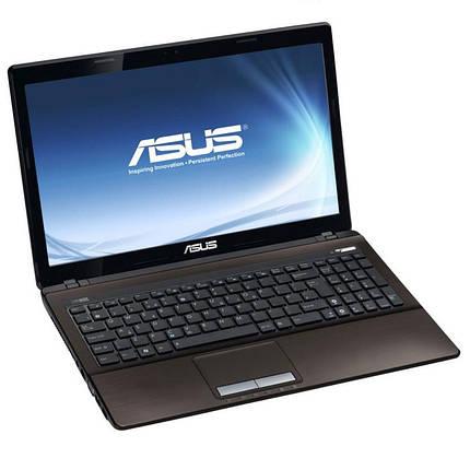 Ноутбук ASUS K53S-Intel Core i7-2670QM-2.2 GHz-4Gb-DDR3-320Gb HDD-W15.6-Web-DVD-R-NVIDIA GeForce, фото 2