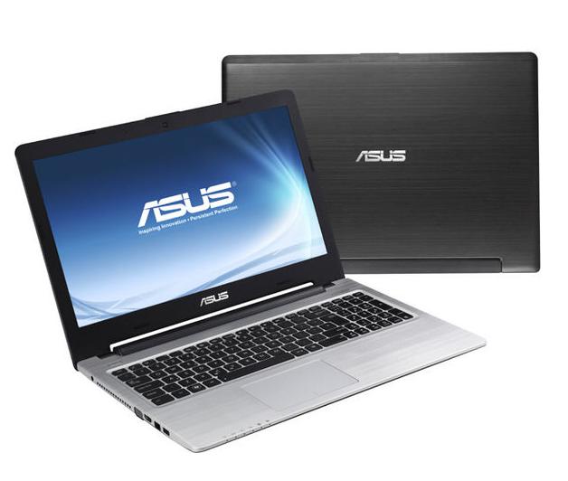 Ноутбук ASUS K56CM-Intel Core-I5-3317U-1.7GHz-4Gb-DDR3-320Gb-HDD-W15.6-Web-DVD-R-(C-)- Б/У