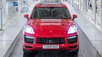 Porsche отпраздновал выпуск миллионного Cayenne (ВИДЕО)