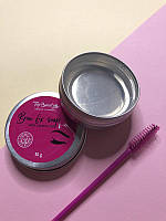 Мило-фіксатор для укладання брів з кокосовим маслом Top Beauty Brow fix soap with coconut oil 30 гр, фото 1