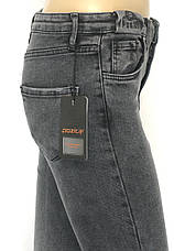 Сірі жіночі джинси slim Pozitif jeans, фото 3