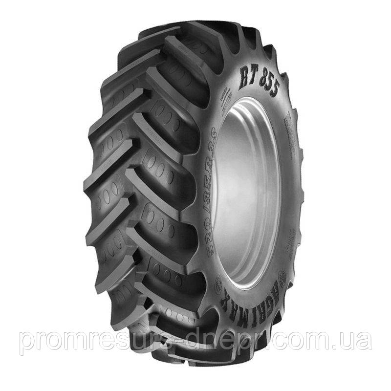 Шина пневматическая тракторная 520/85 R38 (20.8R38) 155A8/155B BKT AGRIMAX RT-855 TL