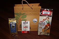 Подарочный набор упаковка Montana coffee+чай Assortea+Montana Mini