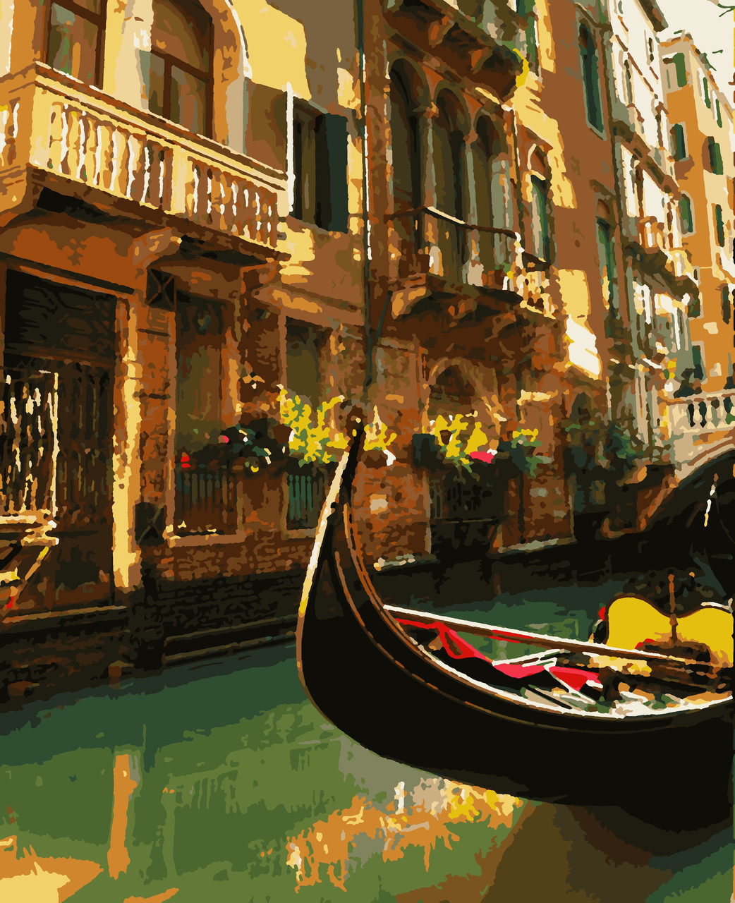 """Картины по номерам """"Венеція"""" 50*60 см"""
