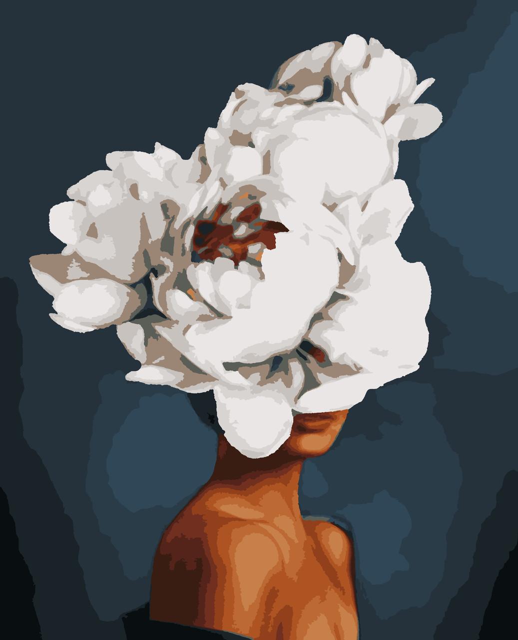 """Картины по номерам """"Елегантна квітка"""" 50*60 см"""