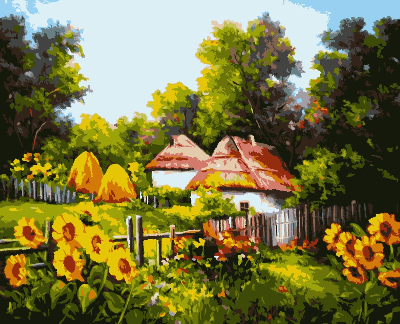 """Картины по номерам """"Українськими стежками"""" 50*60 см"""