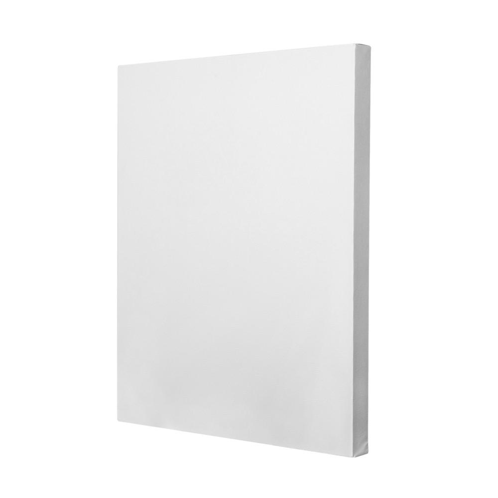 Холст на подрамнике, белый 100% ПЭ 40*50 см
