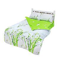 Комплект постельного белья Good Idea полуторное сатин Белый