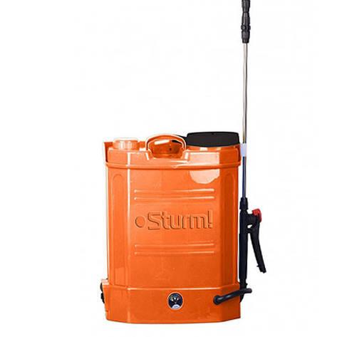 Аккумуляторный опрыскиватель Sturm GS 8212B (12 литров, гарантия 24 мес.), фото 2