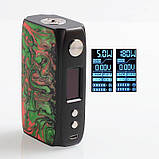 Батарейный мод IJOY Shogun Univ 180W TC Зеленый спектр, фото 5