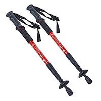 Палки скандинавские телескопические треккинговые для скандинавской ходьбы ENERGIA 2 шт Красные (TY-2915-1)