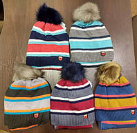 Шапка-ушанка теплая зимняя для мальчика .+ шарф на РВМ, Щасливе Дитинство