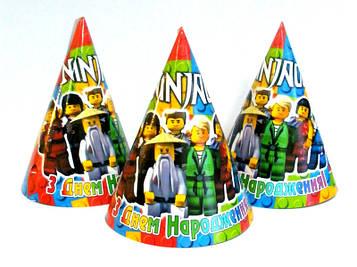 """""""Лего Ниндзяго: Белый"""" - Колпачки Без надписи"""