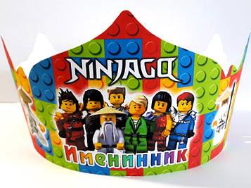 """""""Лего Ниндзяго: Белый"""" - Корона Именинник РУС"""