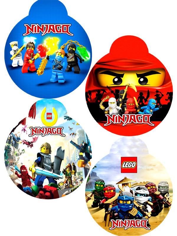 """""""Лего Ниндзяго: Белый"""" - Медальки"""