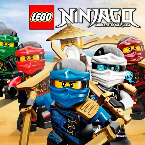 """Лего Ниндзяго: Белый"" - Наклейка Сок 6,5*8,5 см."