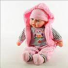 """Кукла пупс """"Мій малюк"""" на українськой мові, говоряший пупс мой малыш с музыкой на украинском языке, фото 7"""