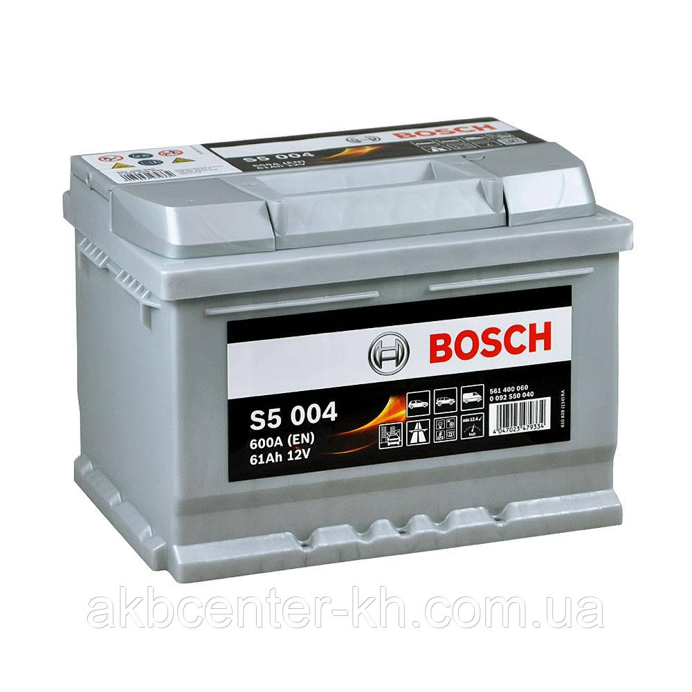 Аккумулятор автомобильный BOSCH 6CT-61 S5 R 600A
