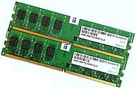 Пара оперативной памяти Apacer DDR2 4Gb (2Gb+2Gb) 800MHz PC2 6400U CL6 (76.A153G.B770C) Б/У, фото 1