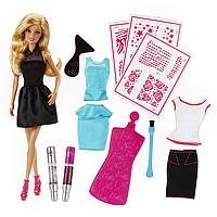 Кукла Barbie Mattel студия для создания сверкающих нарядов CCN12