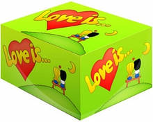 Жвачка Love is ... Яблоко-Лимон