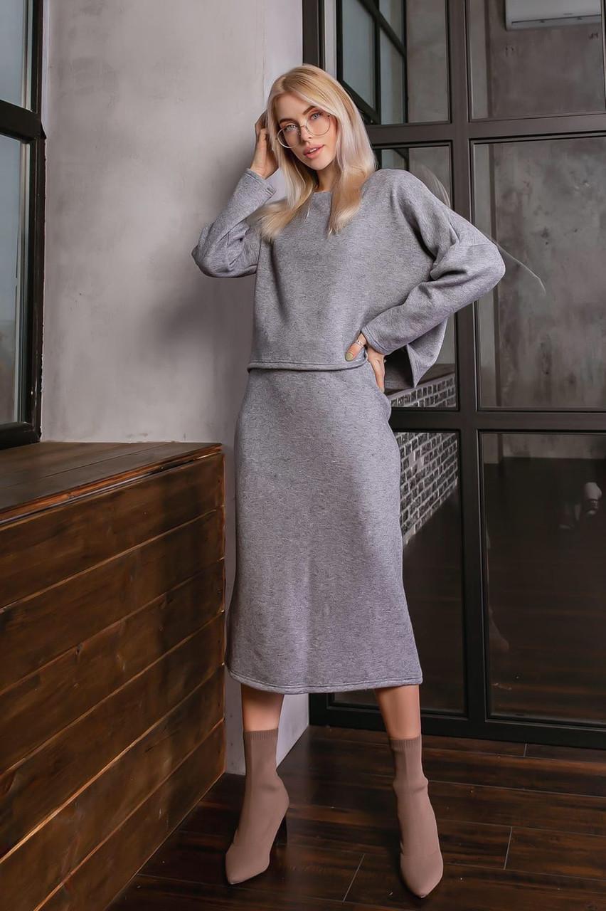 Женский костюм юбка +кофта ж1722