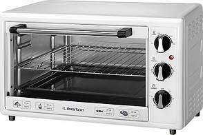 Печь электрическая LIBERTON LEO-350 White 1800Вт 35л 3 режима нагрева макс 250 ° C таймер 60мин вес 5,78кг