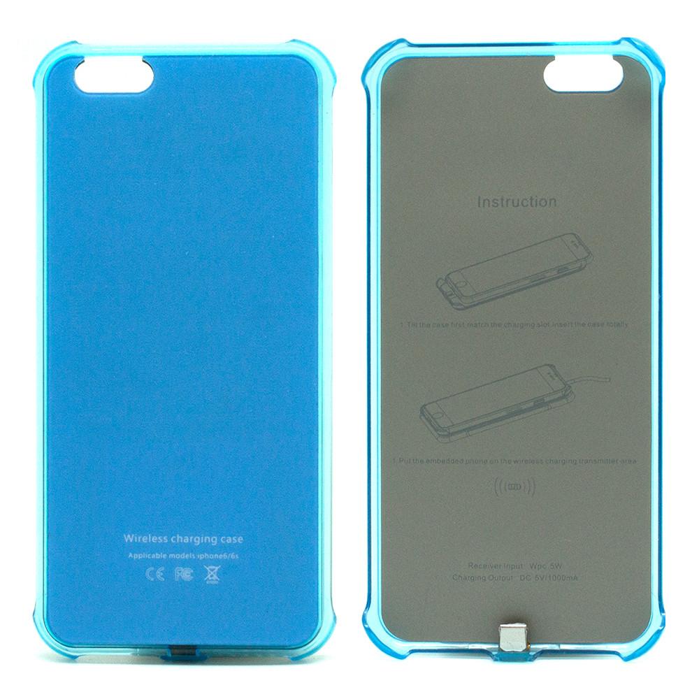 Чохол з вбудованим приймачем для iPhone 6/6S Ytech Blue