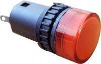 Сигнальная арматура AD16-16DS красная 220V АC