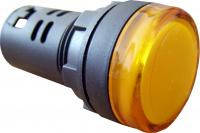Сигнальная арматура AD22-22DS желтая 110V АC