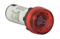 AD22-22 BM/r мигающий красный  220V АC