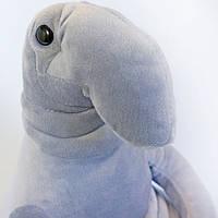 Мягкая игрушка Weber Toys Ждун 85 см Серый