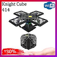 Дрон Куб Knight Cube 414 с WiFi камерой Радиоуправляемый Квадрокоптер Дистанционное управление Радиоуправление