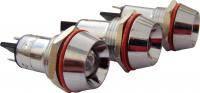 Сигнальная арматура AD22C-16  белая 24V AC/DC