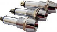 Сигнальная арматура AD22C-9  белая 24V AC/DC