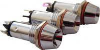Сигнальная арматура AD22C-10  белая 24V AC/DC