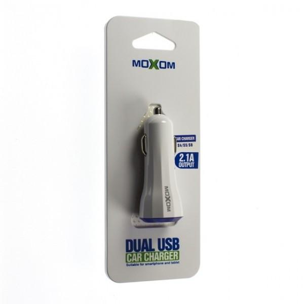 Автомобільний зарядний пристрій MOXOM KC-05 MICRO USB