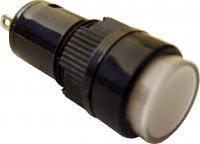 Сигнальная арматура NXD-212  белая 24V AC/DC