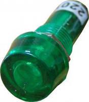 PL1-101 220В Сигнальная арматура зеленая