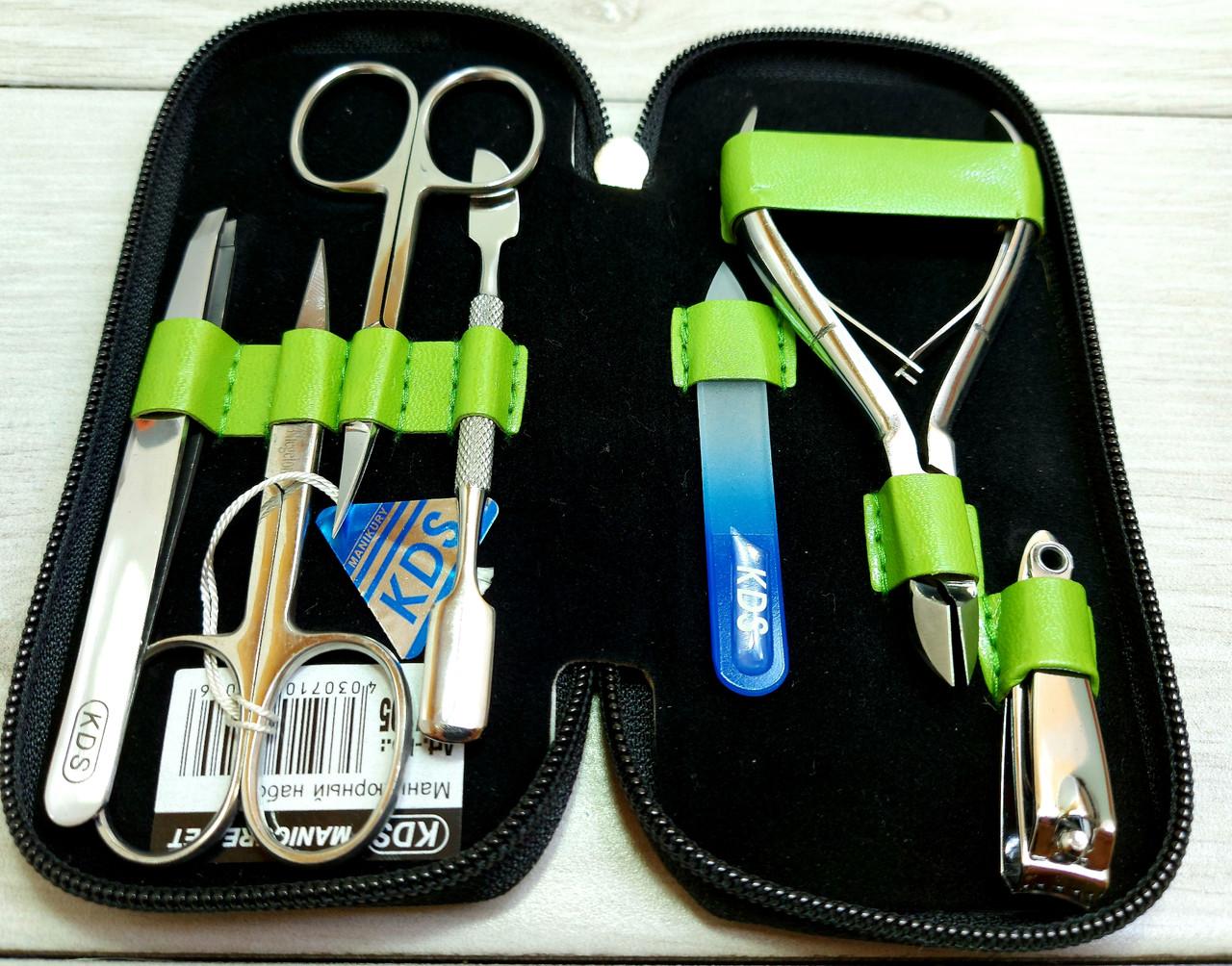 Маникюрный набор KDS 04-7105 7 предметов