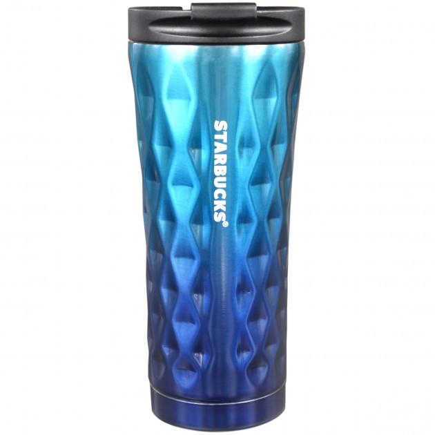 Термокружка Starbucks Diamond Style 500 мл Blue (101200BL)