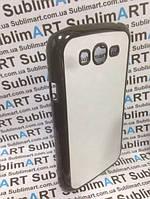 Чехол для 2D сублимации пластиковый матовый на Samsung i9082 Galaxy Grand  Duos черный