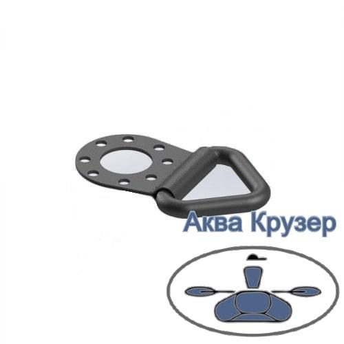 FASTen Borika Pt205 Буксировочное кольцо с ПВХ креплением для установки под замок Fs219 для лодок