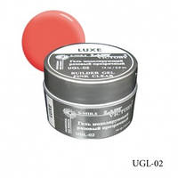Gel Lady Victory Luxe UGL-02 розовый прозрачный моделирующий ,14 г