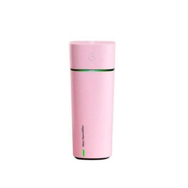 Увлажнитель воздуха с вентилятором Mini Humidifier HMT-M11 Розовый (15669P)