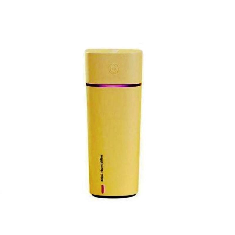 Зволожувач повітря з вентилятором Mini Humidifier HMT-M11 Жовтий (15669Y)