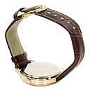 Кварцові годинники Swidu SWI-018 механічні для чоловіків Коричневий (3088-8774), фото 5